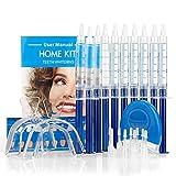 Aozzy Professionelle Zahnaufhellung Kit Erweiterte Gel-Whitening Erweiterte Zahnbleich Professionelle Hause Zähne Whiten Kit Zahnpflege Set