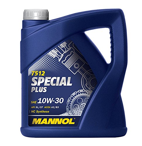 MANNOL 1 x 5L 7512 Special Plus 10W-30 / HC Synthese Motoröl 501.01 505.00