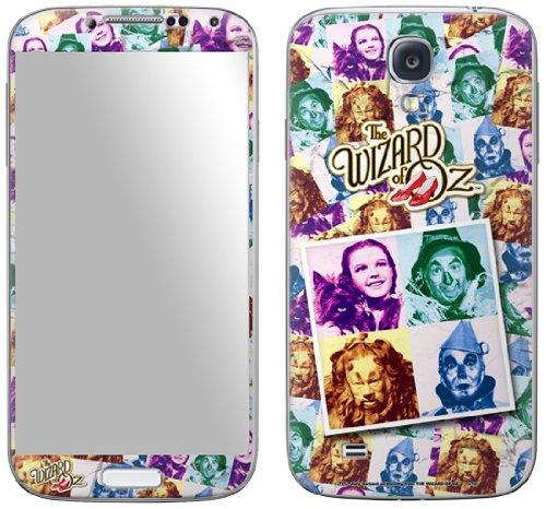 Zing Revolution MS-WOZ10456 Schutzfolie für Samsung Galaxy S4 Foursquare (Motiv: Zauberer von Oz)