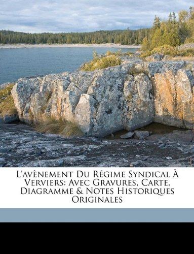 L'Avenement Du Regime Syndical a Verviers: Avec Gravures, Carte, Diagramme & Notes Historiques Originales