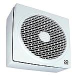 Vortice Abluftventilator, Umkehrbar, 480 m3/h Luftleistung, Fenster-/ Wandmontage, 12452 Vario 230/9 AR