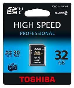 Toshiba SD-T032UHS1(BL5 Class 10 SDHC 32GB Speicherkarte