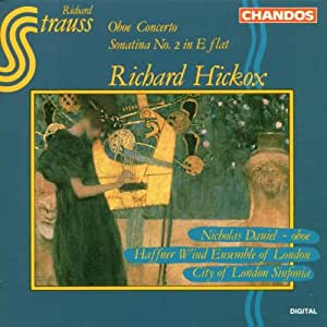 Richard Strauss: Obe Concerto / Sonatina No. 2 in E flat