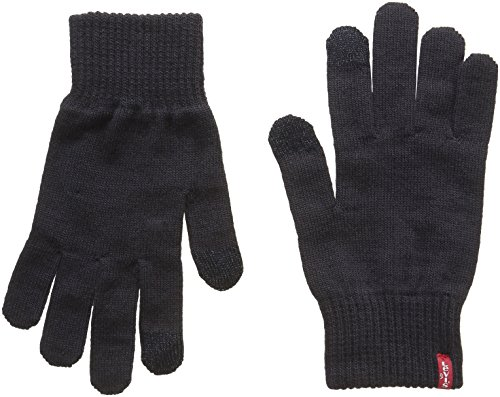 Levis Ben Touch Screen Gloves Navy Blue M