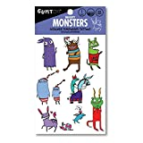 Monster - Designer Temporary Tattoos