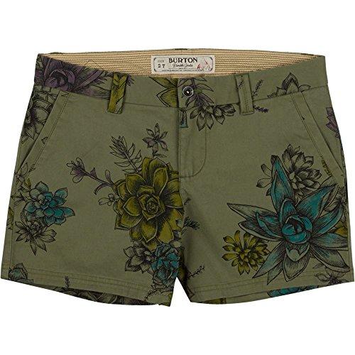 Burton Damen kurze Hose Wmn Mid Shorts Succulent Camo