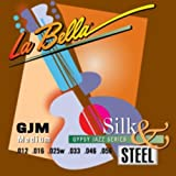 La Bella Gypsy Jazz Series - Silk & Steel - Medium - Extremo De Bola