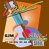 La Bella série Gypsy Jazz-Extrémité à boule en soie et en acier-Taille M