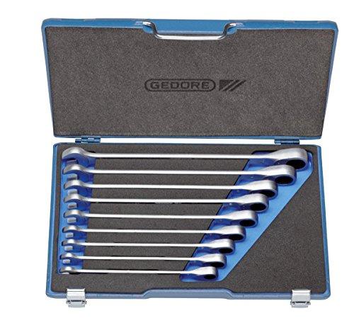 Preisvergleich Produktbild GEDORE Satz Maulschlüssel mit Ringratsche XL 13-22 mm, 7 R XL-009