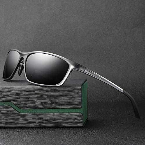 FSJCB Gafas De Sol Photochrome Sonnenbrillen Männer Polarisierte Gläser Aluminium Magnesium Rahmen Hd Objektiv Sonnenbrillen Oculos Sonnenbrillen