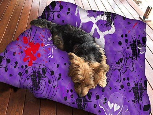 Halloween Wallpapers Hundebett Pet Supplies Große extra Größe XL Reißverschluss mit (Halloween Wallpaper Cute)