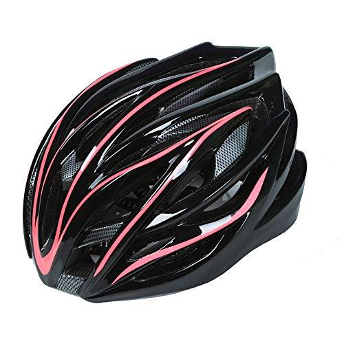RHYTHM Fahrradhelm Mountainbike Helm Rollhelm integrierten Formrad Helm,Red