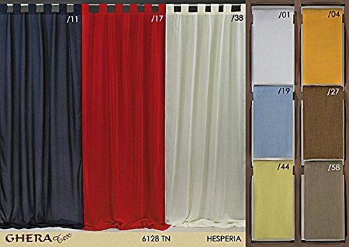 Tenda/tendone da interno 134x300 cm hesperia, giallo, casa, cucina, sala, camera