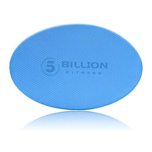 5BILLION Yoga Knieschützer Kissen - 2cm Dickes Eco TPE Foam Kniepolster - Kniendach & Ellbogenstütze für Yoga & Pilates Übung (Blau) (Yoga-matte, Dicke 2 Cm)