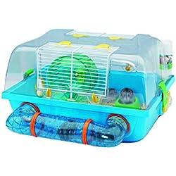 VADIGRAN Savic Cage pour Hamster Spelos Multicolore 42,5 X 38 X 24 cm