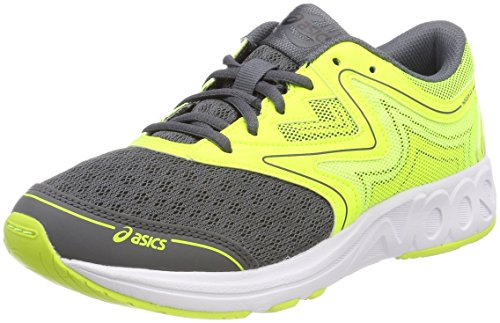 Asics Noosa GS, Zapatillas de Running Unisex Niños, Amarillo (Carbon/Safety Yellow/Mid Grey 9707), 39 EU