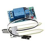 Bluelover Dc 12V Relè Regolatore Del Suolo Umidità Umidità Modulo Del Sensore Automaticamente Irrigazione