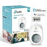 TP-Link WLAN Steckdosen (funktionieren mit Amazon Alexa, Echo, Echo Dot, Google Home und IFTTT, Kein Hub erforderlich, Steuern Sie Ihre Geräte von überall aus)