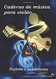 Caderno de música para violão - Padrão e tablaturas
