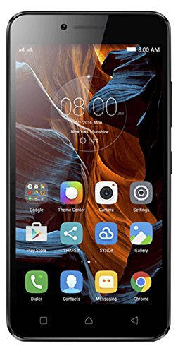 Lenovo Vibe K5 Smartphone, Display da 5', Fotocamera 13 MP, 16 GB, Octa-Core da 1.4 GHz, Grigio [Francia]