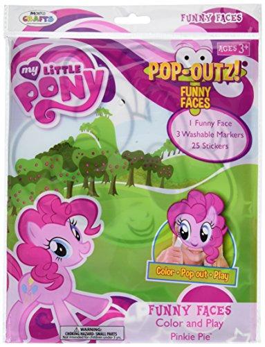 Little Pony Pop-outz Funny Faces ()