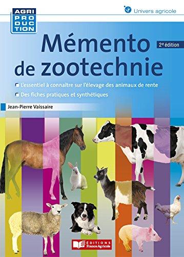 Mémento de zootechnie par JEAN PIERRE VAISSAIRE