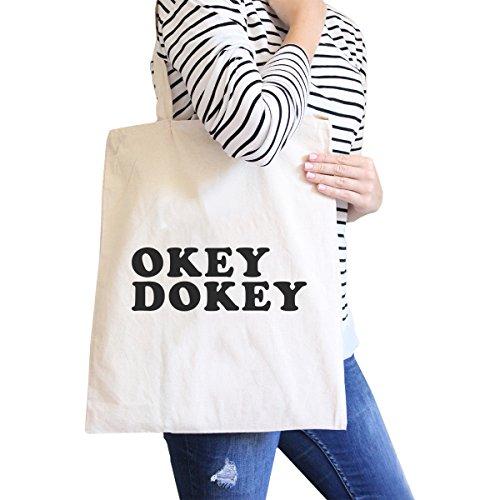 365 Printing inc , Borsa da spiaggia  Donna I Doughnut Know - Black taglia unica Okey Dokey - Natural