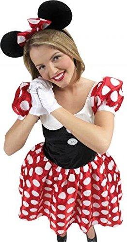 Große Minnie-Kostüm Mouse- Lizenzprodukt