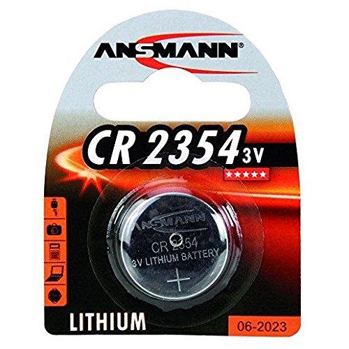 ANSMANN Lot de 3 Blisters de 1 pile Lithium CR2354 3 Volt 550 mAh