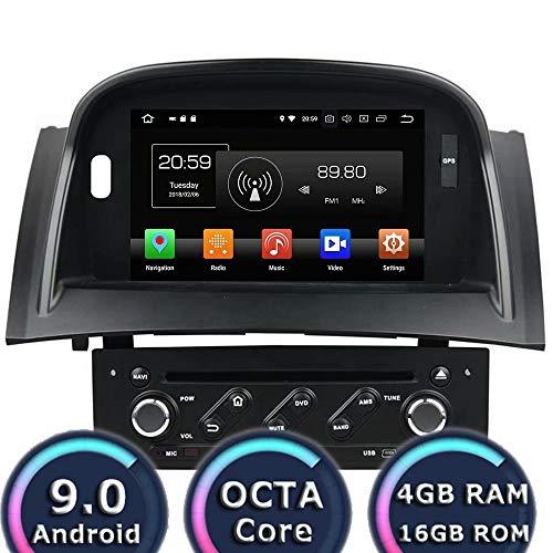 ROADYAKO 7 Pouces Pour Renault Megane 2003 2004 2005 2006 2007 2008 2009 Anroid 8.0 Autoradio Autoradio avec navigation GPS Lien WIFI 3G avec r/étroviseur RDS FM AM Bluetooth AUX Multim/édia Audio Vid/éo