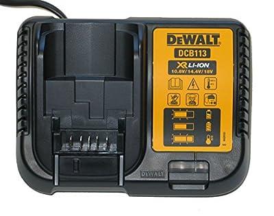 Dewalt DCB113 10.8v 14.4v - 18v XR Multi Voltage Battery Charger