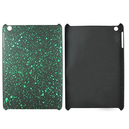 Heartly Night Sky Glitter Star 3D Printed Design Retro Color Armor Hard Bumper Back Case Cover For Apple iPad Mini 2 & 3 Tablet With Retina Display - Nature Green  available at amazon for Rs.129