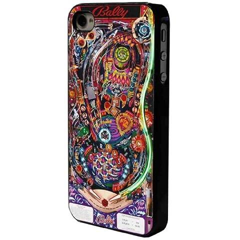 Cool Retro Arcade Pinball Bally print design iphone 4 4S Coque arriere Coque Case