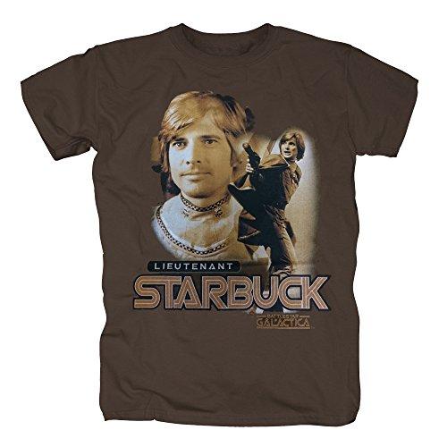 TSP Battlestar Galactica - Starbuck T-Shirt Herren XXL (Fans Raider Kostüme)
