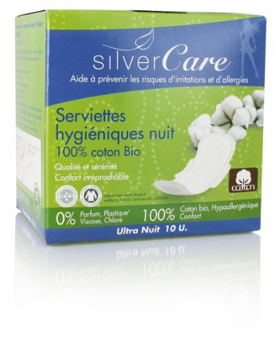 SilverCare Protection Ultra Fine - Compresas noche