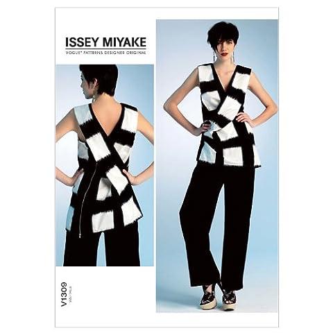 V1309- VOGUE Designer Schnittmuster - Issey Miyake - Misses Top