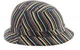 YAKKAY Tokyo Colour Stripe Bicycle Helmet Cover (WITHOUT HELMET!): Large (57-59cm)