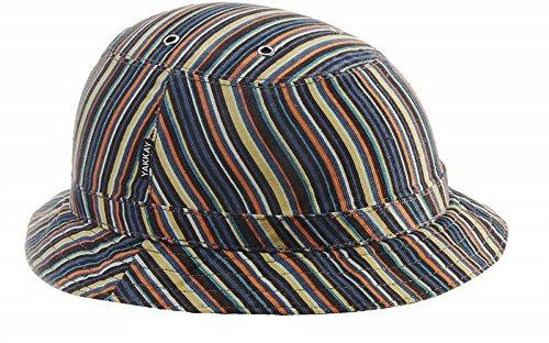Yakkay Tokyo Couleur Stripe casque de vélo (capot sans casque.): Grande (57-59cm)