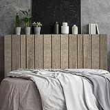 Megadecor Tête de lit décorative en PVC effet planches en bois vieillies
