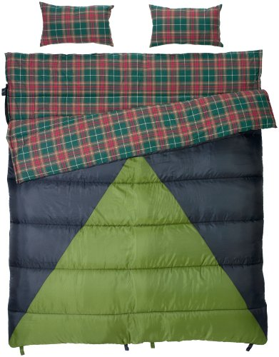 slumberjack-bonnie-and-clyde-30-40-double-wide-synthetic-sleeping-bag