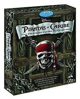 Duopack: Piratas Del Caribe 1-4 + Bonus Disc [Blu-ray] (B005MH6SG6) | Amazon price tracker / tracking, Amazon price history charts, Amazon price watches, Amazon price drop alerts
