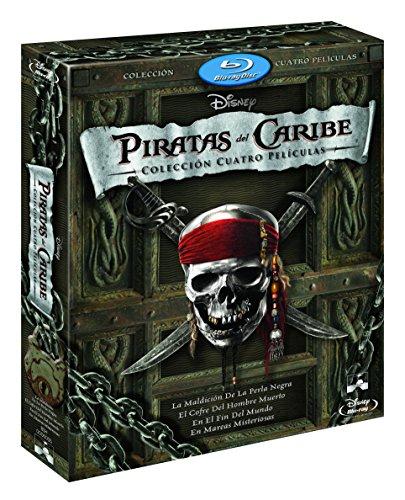 Duopack: Piratas Del Caribe 1-4 + Bonus Disc [Blu-ray] 51 2B21491GXL