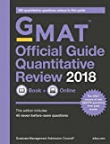 #3: GMAT Official Guide 2018 Quantitative Review: Book/Online