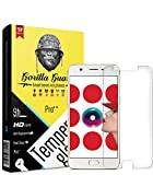 Gorilla guard's HD+ Clear Tempered Glass Screen Protector for Oppo A57 5.2inch (Pro Series) 8H Hardness, oleophobic, UV Protect, 2.5D Rounded Edges, neo Coated, Free Installation kit, Best Deal!