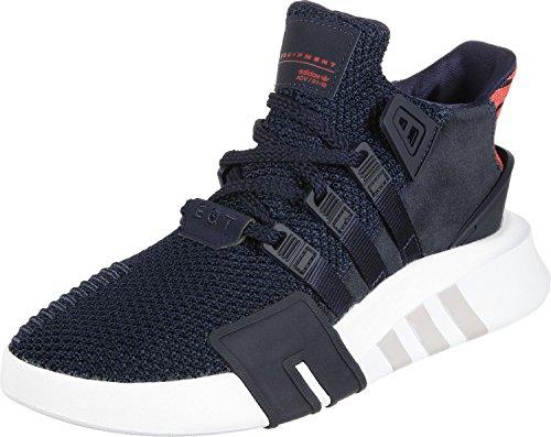 adidas Unisex-Kinder EQT Bask ADV Hohe Sneaker, Blau (Collegiate Navy/Real Coral), 39 1/3 EU