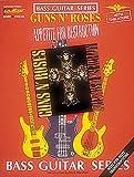 FABER MUSIC GUNS N ROSES - APPETITE FOR DESTRUCTION - BASS TAB