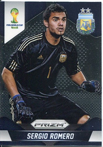 Panini Prizm World Cup 2014 Base Card # 4 Sergio Romero