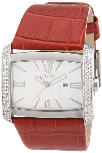 Joop! Damen-Armbanduhr Analog Quarz Leder JP101182F05