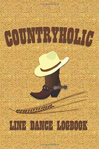 Countryholic: Line Dance Logbook Womens Lady Logger-boot