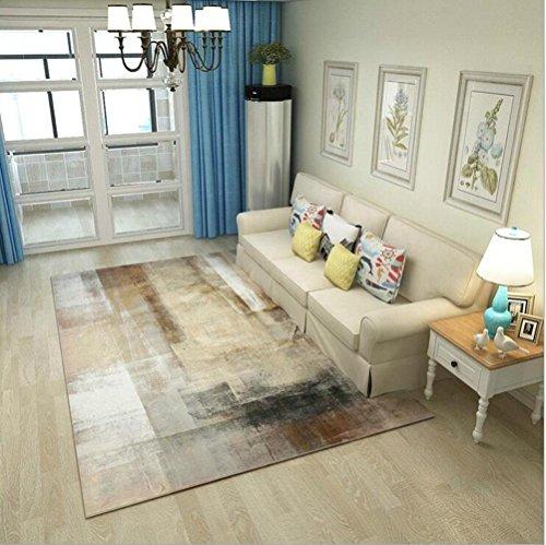 Wohnzimmer Schlafzimmer Abstraktes Muster Samt Teppich, 140* 200cm